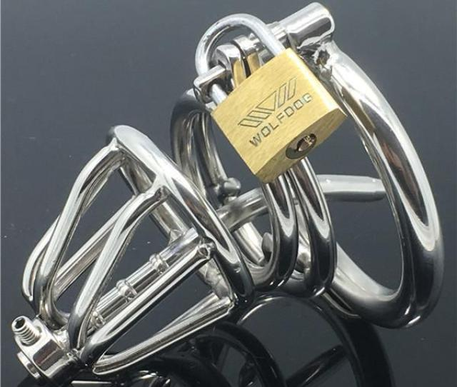 Metal Stainless Steel High Quality Male Chastity Belt Cb Male Chastity Device Cock Cage Penis Cage Male Device Personal Care Men From