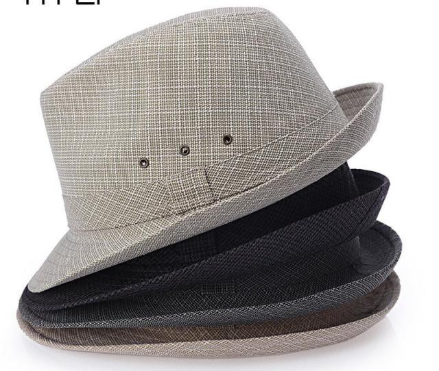 Summer Men Straw Fedora Hats Chapeu Masculino Sun Panama Trilby Caps Linen Jazz Bucket Hats For Women Kentucky Derby Hat From Hermane 21 75 Dhgate Com