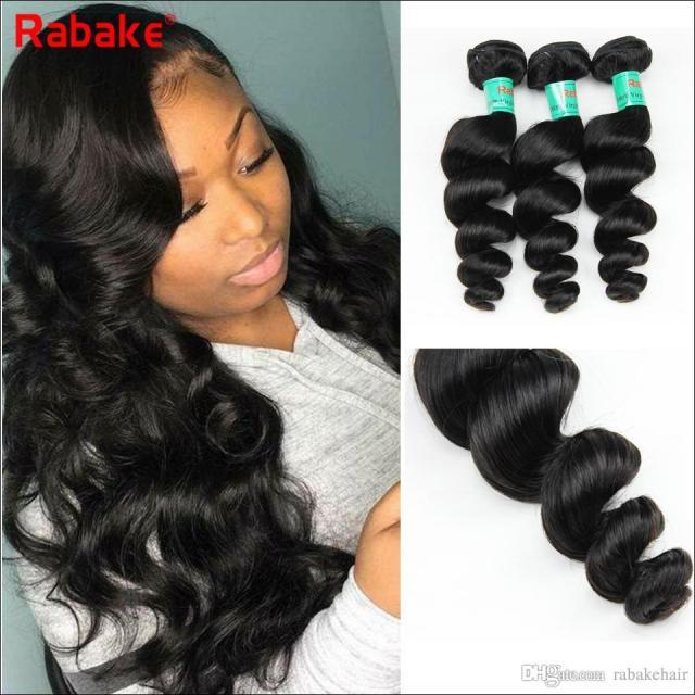 4pcs/lot rebake 8a mongolian virgin non-remy human hair weave loose wave hair bundle unprocessed natural hair extension hot beauty product