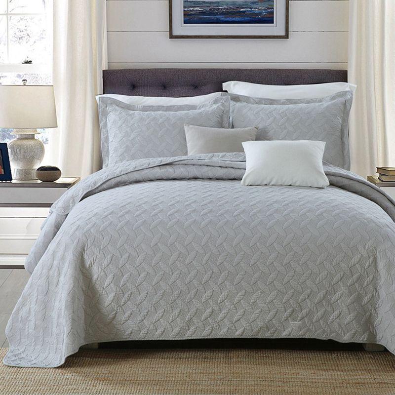 vente en gros chausub gris solide qualite couette ensemble 3pcs coton lave couettes couvre lit couvre lit matelasse couvre lit king size shams coverlet