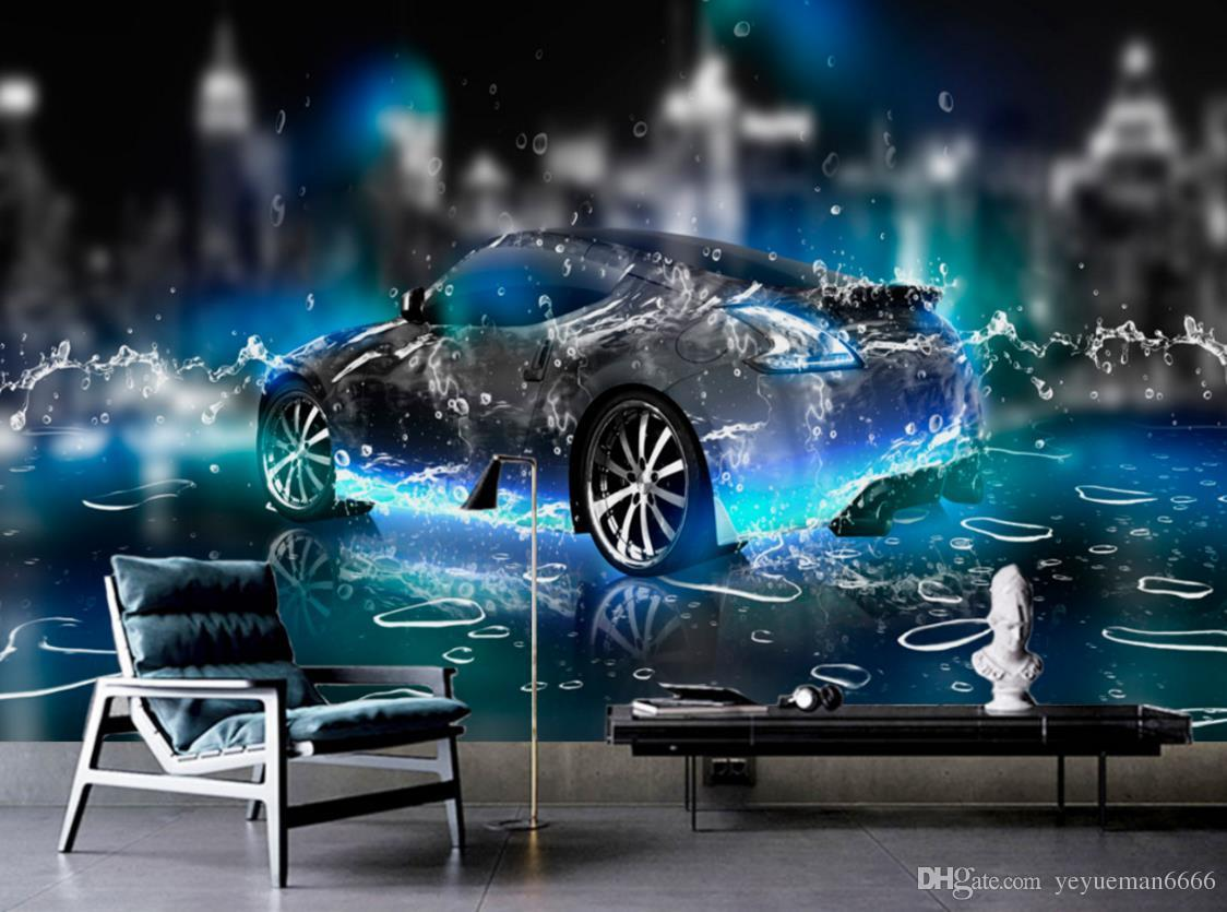 If you want to add a burst of color or pattern to your living room, try one of many easy ways of decorating with wallpaper. Hd Wallpaper For Bedroom Walls Water Sports Car 3d Wall Paper For Living Room Photo Non Woven 3d Stereoscopic Wallpaper From Yeyueman6666 7 45 Dhgate Com