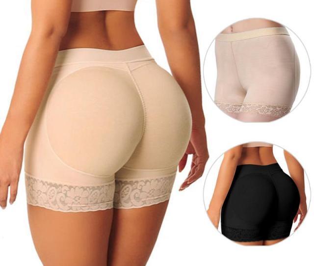 2019 Hot Shaper Pant Sexy Boyshort Push Up Pad Panties Women Fake Ass Underwear Fake Butt Pad Buttock Shaper Butt Lifter Hip Enhancer From Lbdapparel