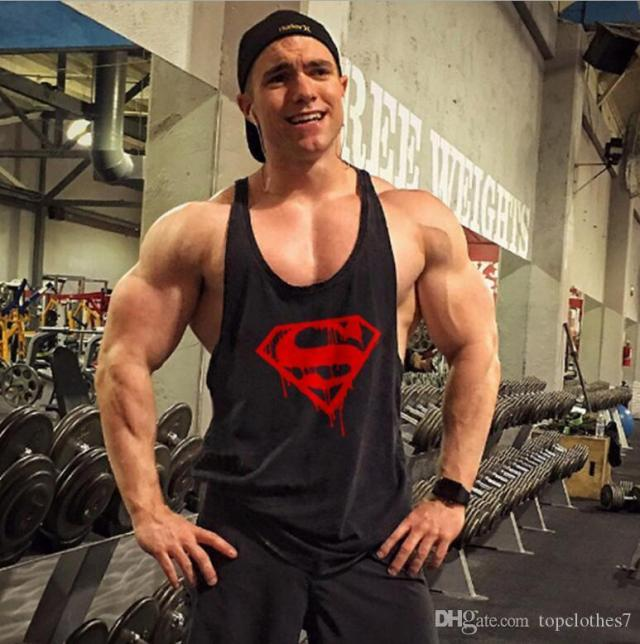 2019 Hot Sale Gym Vest Clothes Fitness Mens Muscle Bodybuilding Undershirt Tank Tops Men Gym Sleeveless Singlet Clothing From Topclothes Dhgate