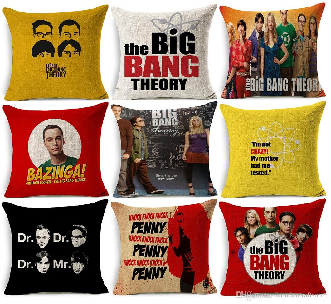acheter couvre oreiller the big bang theory couvre oreiller sheldon cooper penny couvre oreiller en coton american style home decorative de 7 24 du