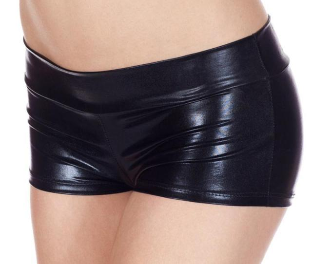 Low Waisted Sexy Lycra Metallic Rave Booty Dance Shorts Spandex Shiny Pole Dance Shorts Gold Silver For Stage From Sansai   Dhgate Com
