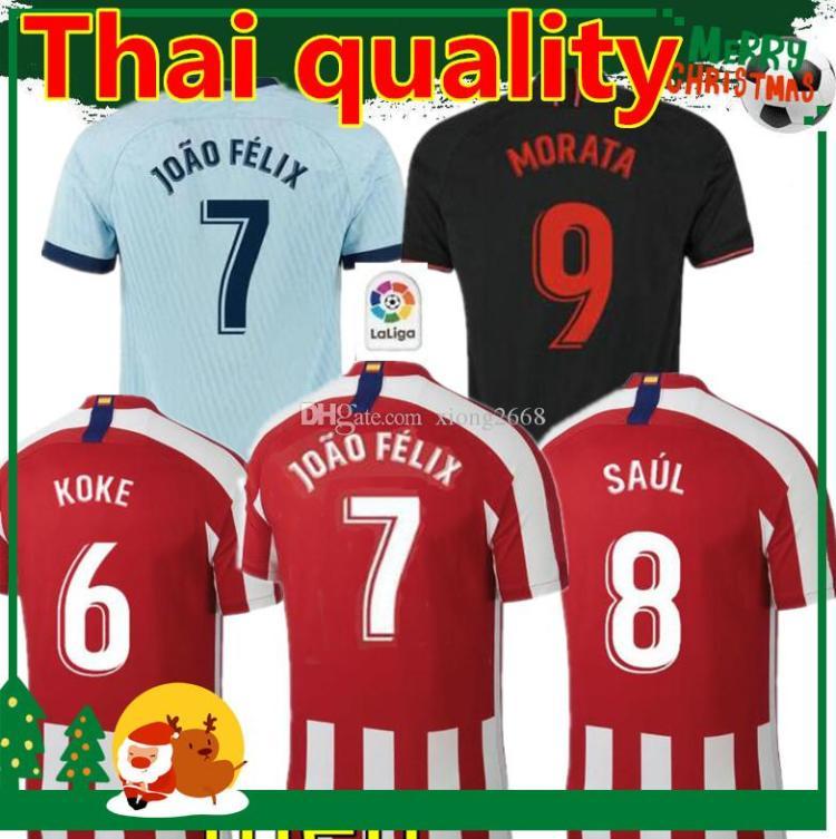 2021 Thai Quality 2019/20 JOAO FELIX Soccer Jersey 2019 ...