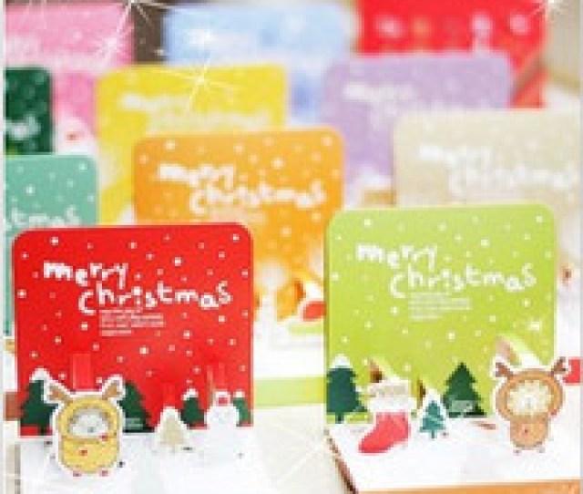 Wholesale Free New Years Greeting Cards Free Ship Set Pc Cute Animal Lap Greeting Xmas