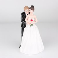 Wholesale Funny Wedding Cake Toppers   Buy Cheap Funny Wedding Cake     Wholesale funny wedding cake toppers   Romantic Bride and Groom Toppers  Couple Figurine Wedding Funny Cake