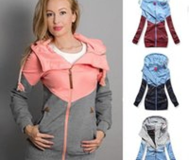 Wholesale Maternity Clothing For Sale Women Sweatshirt Outerwear Spring Autumn Splicing Tops Pregnancy Clothes Maternity