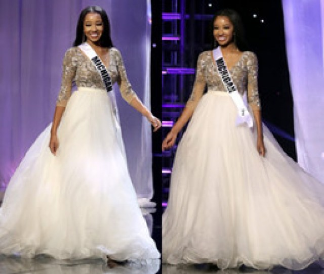 The Miss Teen Usa 2016 Pageant Celebrity Dresses Sexy V Neck 3 4 Long Sleeve Appliques Puffy A Line Formal Evening Occasion Dresses