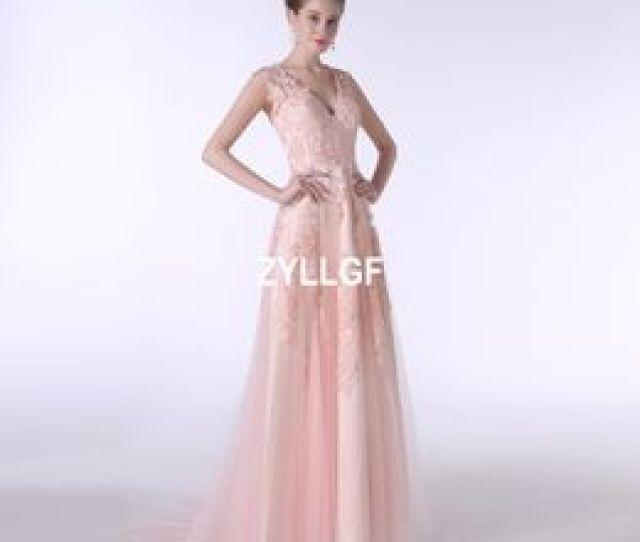 Teens Models Pink Nz 2017 Hot Sales New Arrival Pink Appliques Satin Lace Dresses Zipper