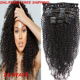 Clip in natural curly hair extensions the best hair 2017 afro curly russian clip in hair extensions natural black 3c pmusecretfo Choice Image