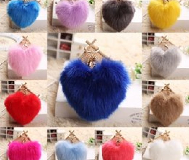 Photos Free Hot Photo Girls For Sale Hot Selling Lovely Heart Shape Rabbit Fur Ball Car