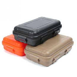Outdoor Storage Boxes Waterproof Online   Outdoor Storage Boxes     online shopping New arrive S L Size Outdoor Plastic Waterproof Airtight  Survival Case Container Camping Outdoor Travel