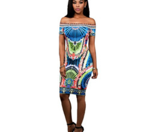Sexy Indians Women Canada 2017 Summer Dress Dashiki Bodycon Sexy Party Dress Short Off The