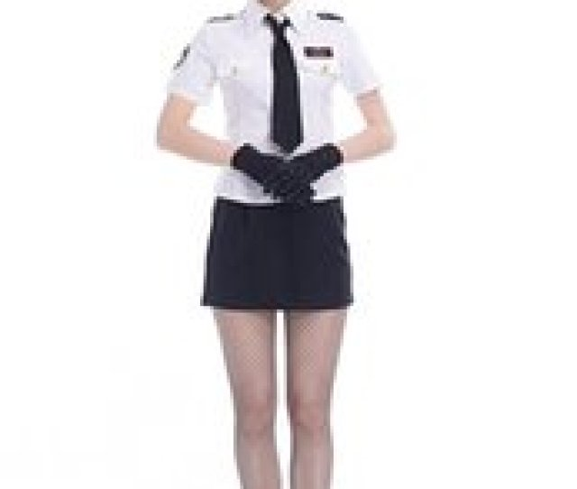 Adult Women Sexy Air Hostess Uniform Flight Stewardess Costume Navy Shirt Shorts Skirt Attendant Cosplay Fancy Outfit For Girls
