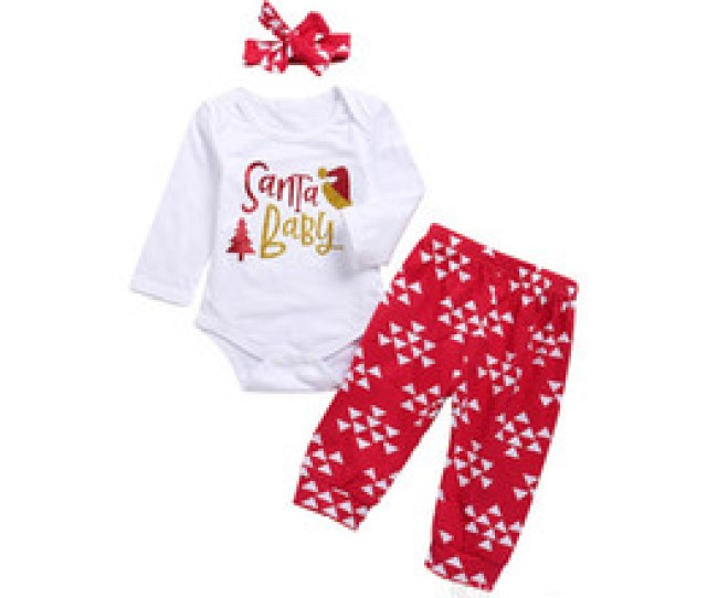 Discount Baby Clothes Winter Body Baby Christmas Outfits Babies Santa Long Sleeve Romper Body Suits