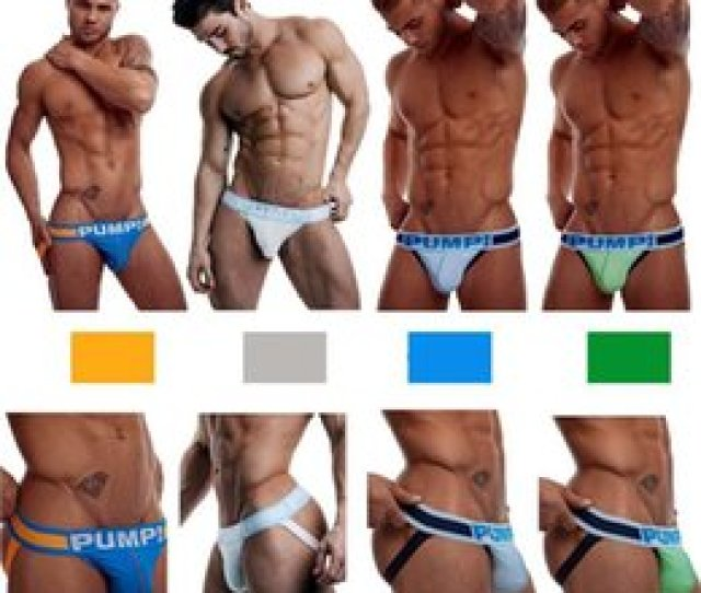 Discount Sexy Black Men Underwears Men Sexy Briefs Letter Print Panelled Underwears Mens G