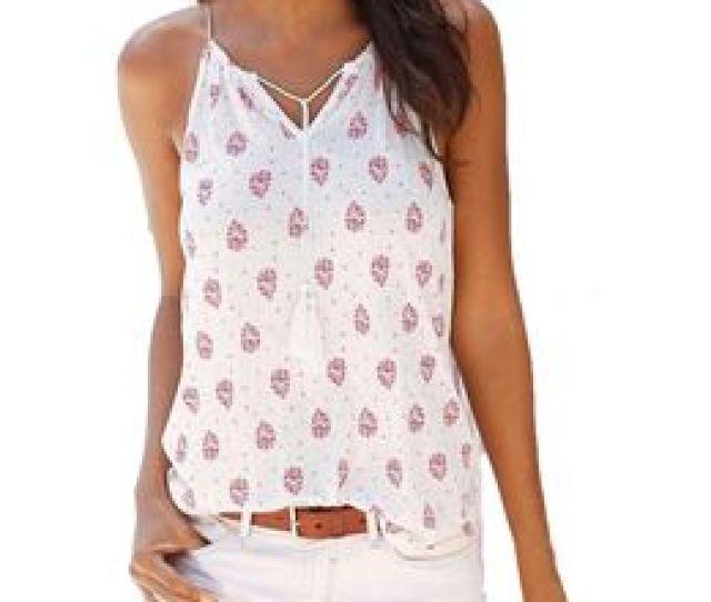 2017 T Shirt Women Summer Print Sleeveless Hot Girl Vest Shirt Crop Tops T Shirt Sexy Sling V Neck T Shirt Camisetas Mujer 5