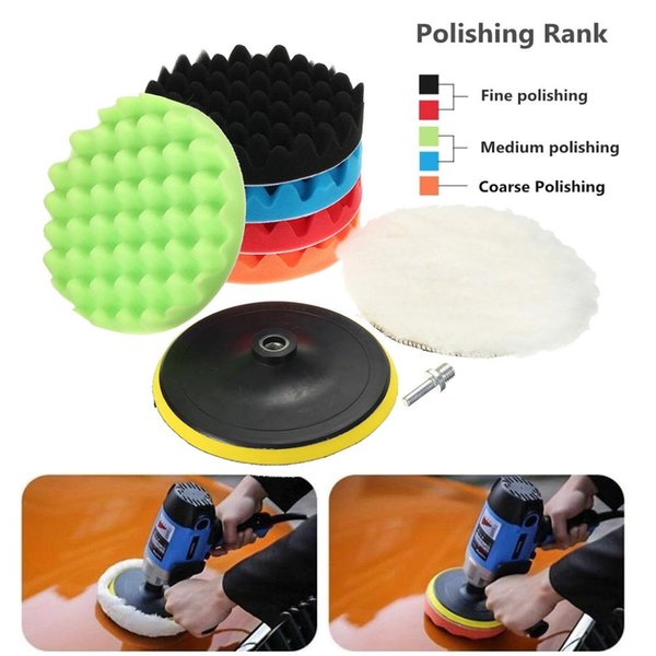 """polishing pads polishing pads 7pcs 3/5/6/7"""" high gross polishing.we offer the wholesale price, quality guarantee, professional e-business service and fast shipping . you will be satisfied with the shopping experience in our store. look for long term businss with you."""