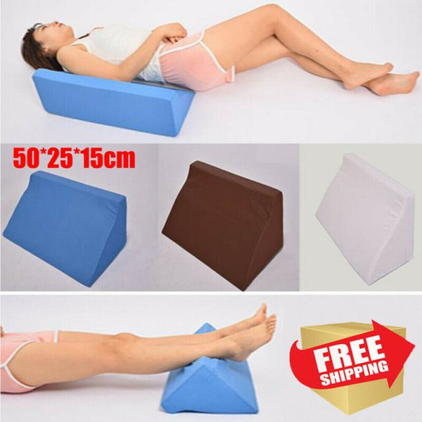 washable leg raise foot rest bed wedge