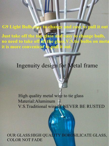 110v 120v Best Selling Modern Art Lighting Mixed Color