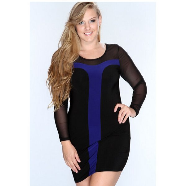Women Sexy Night Club Bodycon Bandage Dress Ladies Long Sleeve Slim