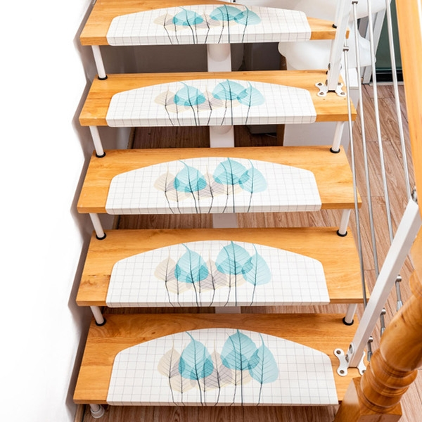 New Stair Step Carpet Mat Glue Free Self Adhesive Household Anti | No Slip Strips For Carpeted Stairs | Stair Nosing | Traction | Non Slip Nosing | Slippery Stairs | Tread Nosing