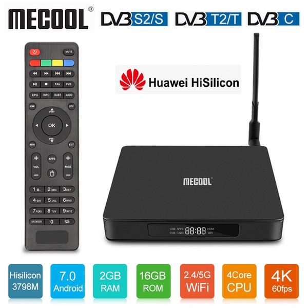Mecool K6 DVB S2 DVB T2 Android TV Box Hisilicon Hi3798M 2GB16GB