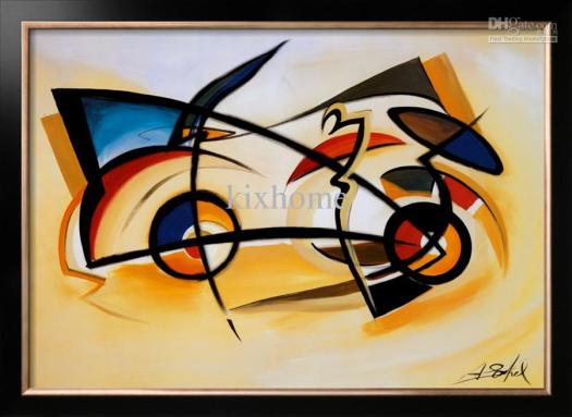 Oil Painting Abstract Home Decor Canvas Perpetual Motion By Alfred Gockel High Quality Handicraft Online With 191 26 Piece On