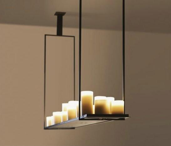 Fumat Hot Products Candleholder Altar Pendant Lamp Modern