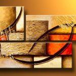 2020 Art Modern Abstract Oil Painting Multiple Piece Canvas Art Set Huge Handicraft Artwork High Quality From Topchinasupplier 40 02 Dhgate Com
