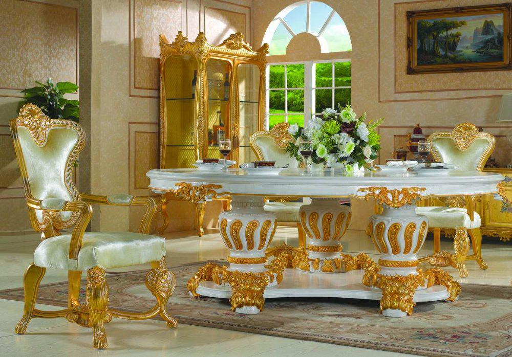 Palace Royal Classic FurnitureHandwork Gilding Golden