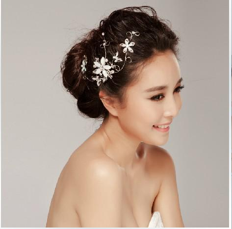 hot sale wedding accessories bride silver hair accessories bridal online with 42 29 piece on