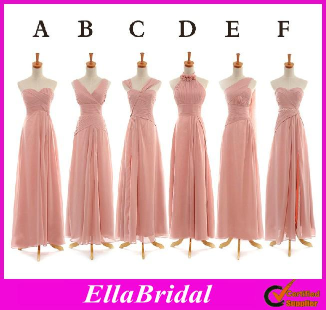 Maid Of Honor Dresses 6 Different Styles Cheap Chiffon ...