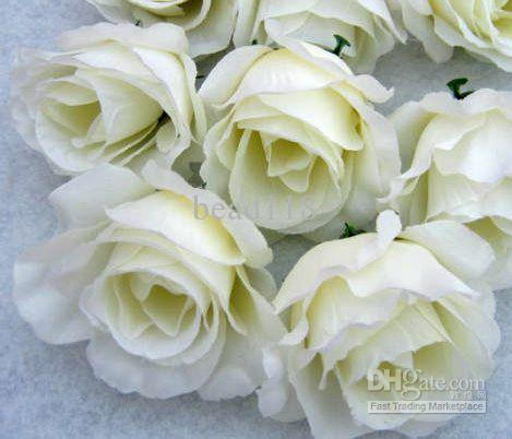 Hot Artificial Flowers Milky White Roses Flower Head Flower Ball Flower Arrangement Silk Flower Festive Party Supplies Wedding Guest Gifts Wedding Keepsakes From Bead118 43 78 Dhgate Com