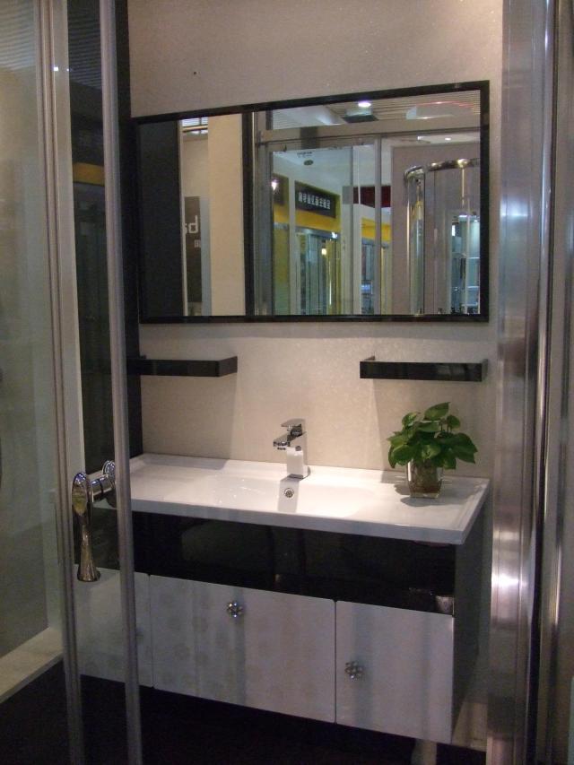 2017 Ocean Shipping New Modern 304 Stainless Steel Bathroom Vanity