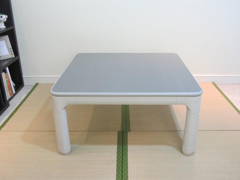 2019 Asian Japanese Furniture Kotatsu Floor Table Folding Leg 60cm Small Reversible Top White