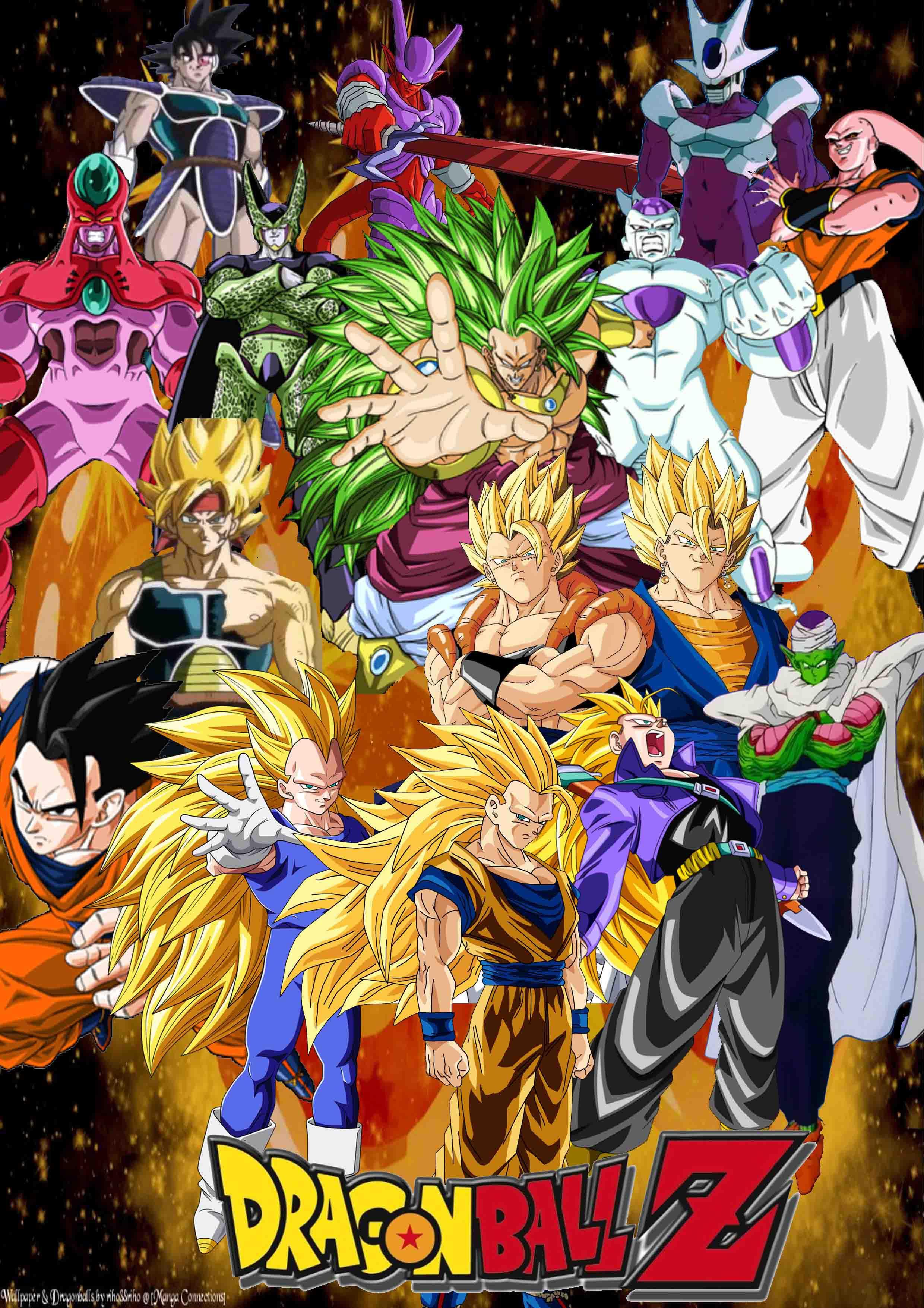 Dragon Ball Z Silk Poster 29 From Wonderfulmaker