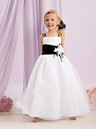 Accented Flower girls and Bridesmaids Dresses