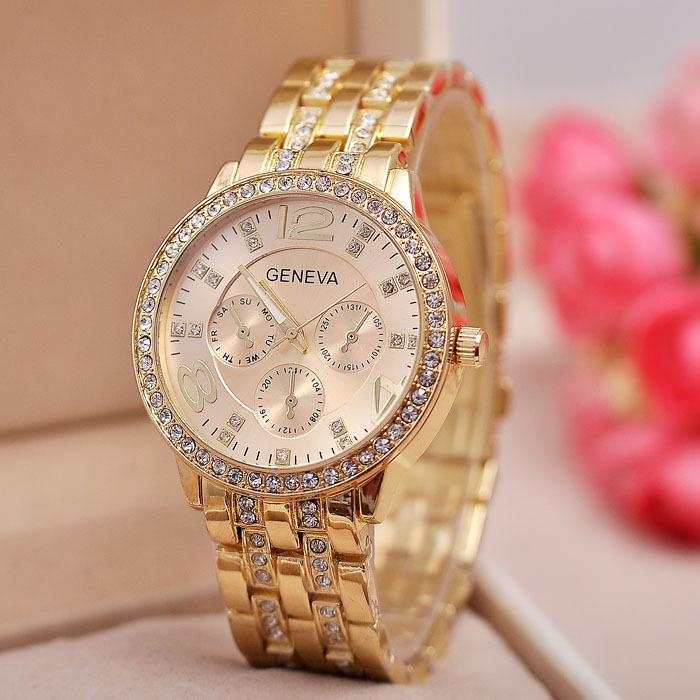 Image result for geneva watch gold