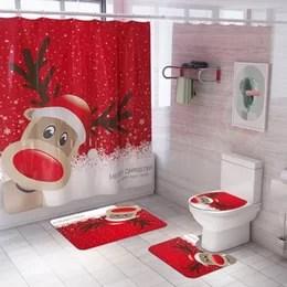wholesale bathroom sets shower curtain