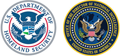 DHS and ODNI Seals