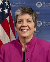Secretary of Homeland Security Janet Napolitano onLoad=