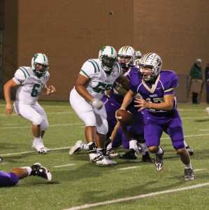 Broncos even record with victory over Azle