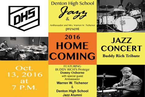 2016 Jazz Homecoming Concert Flyer