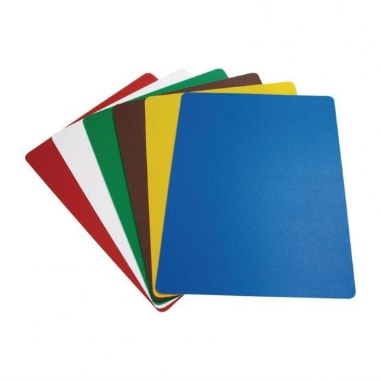 Gekleurde snijmatten voor verschillende voedselgroepen | Snijplanken