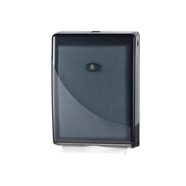 handdoek-dispenser-qleanic-zwart