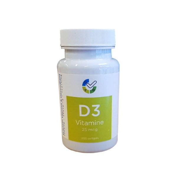 Vitamine D3 - 200 softgels