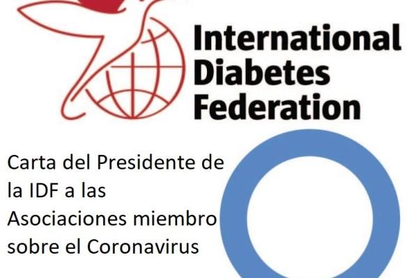 El Presidente de la IDF señala que el coronavirus afecta de forma relativamente leve en jóvenes con Diabetes Tipo 1, especialmente en niños.